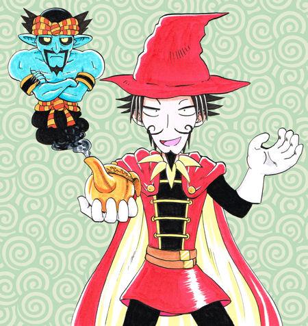 にせハーメルンとランプの魔人20131025ブログ