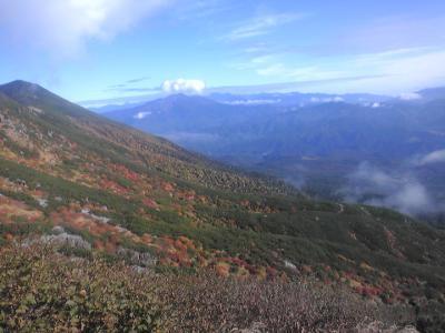御嶽山の紅葉