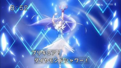 プリキュア、ダイヤモンドシャワー!