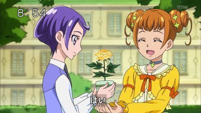 このバラをもらえたのもありすのおかげよ、ありがとう