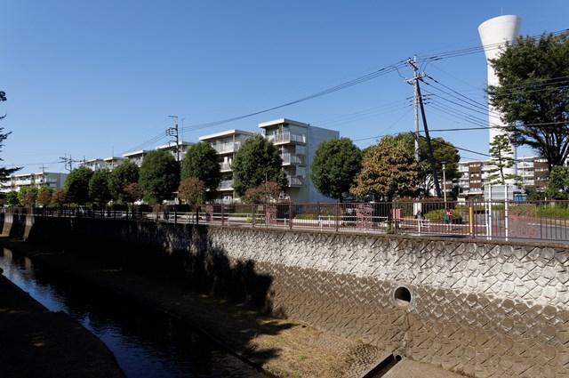 東京都営仙川アパートと仙川