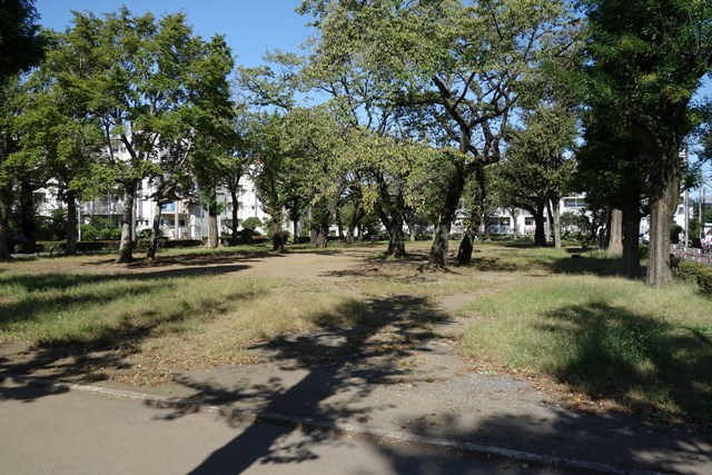 都公社祖師谷住宅西側の公園