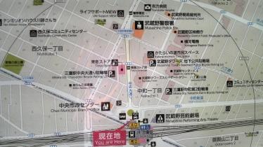 三鷹駅1-22