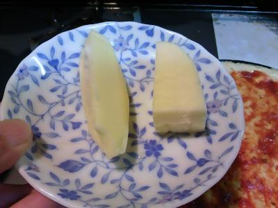 5枚目用のチーズ