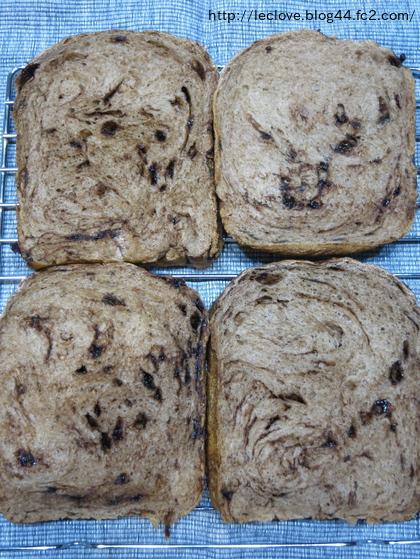 しつこくチョコチップ食パン