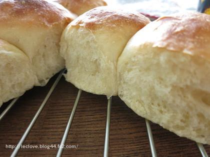 モチモチのパンが出来上がりました!