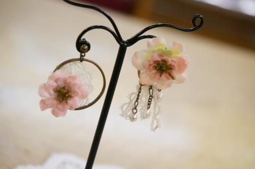 お花の雑貨、アクセサリー、コサージュ
