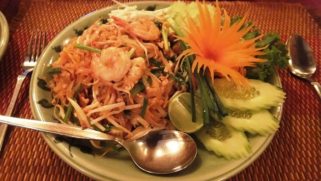 Pad Thai @whole earth