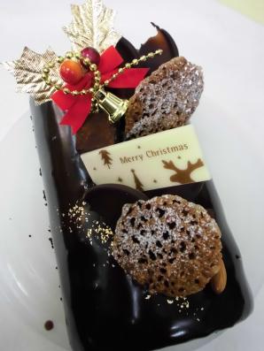 チョコレートのブシュドノエル