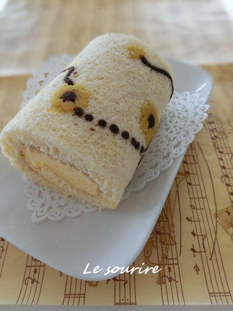 お絵かきロールケーキ