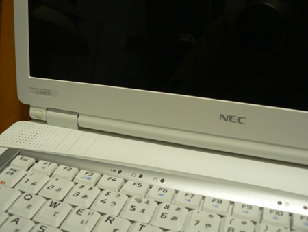 NEC Lavie LL550 Windows Vista Home Premium