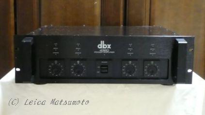 dbx社の業務用アンプ 4320