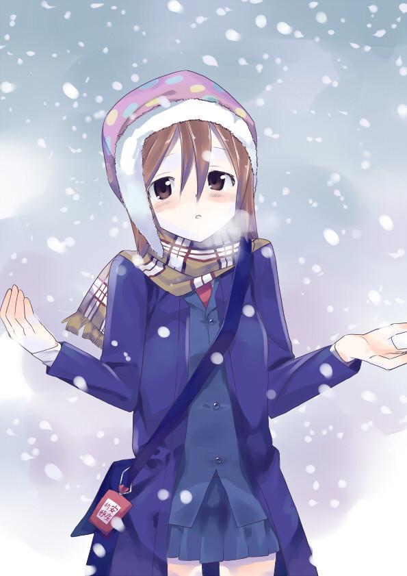 穴があったら埋葬されたい-冬の雪