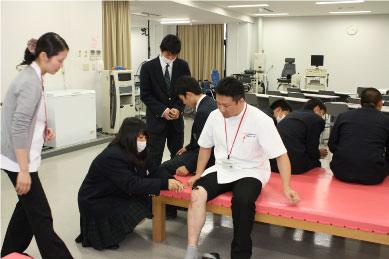 【理学療法士科】腱反射の体験