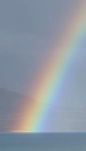 4-6パンゴン湖・虹アップ