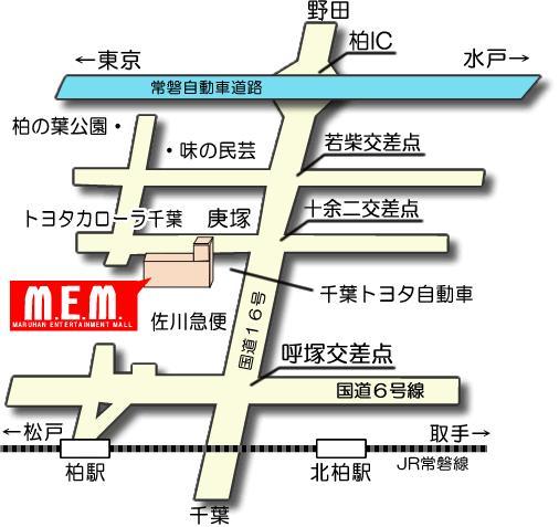 マルハン地図
