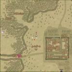 キャラ文字地図