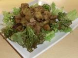 4信玄鶏とサツマイモの甘辛炒め