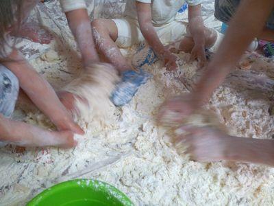 小麦粉遊び3