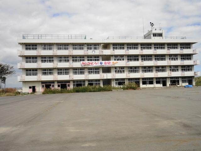 荒浜の小学校