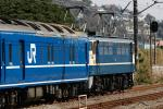 P型は白帯客車のイメージ