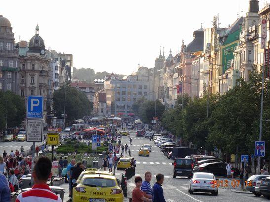 ヴァツラフ広場