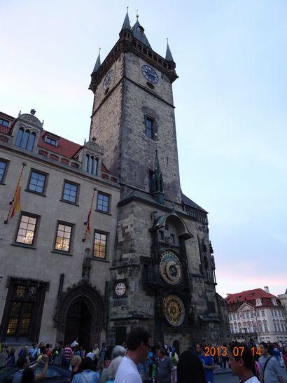 プラハ時計台
