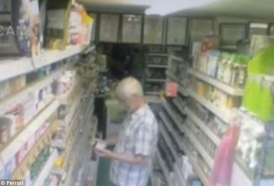 Spooky goings-on in corner shop as CCTV appears to show boxes of teabags floating down the aisles