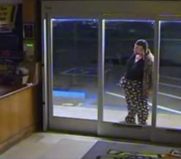 Video captures bumbling burglary suspect