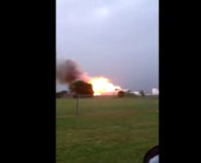 Fertilizer Plant Explosion Near Waco