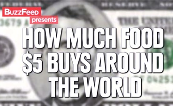 How Much Food Can You Buy For $5 Around The World