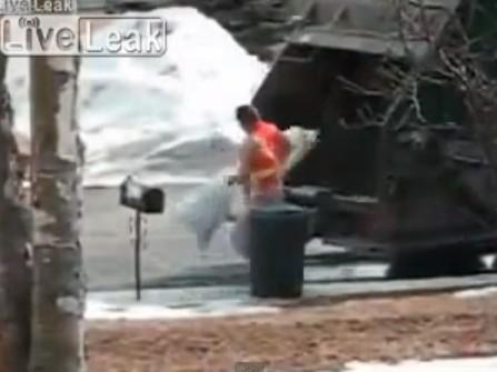 Garbage man revenge