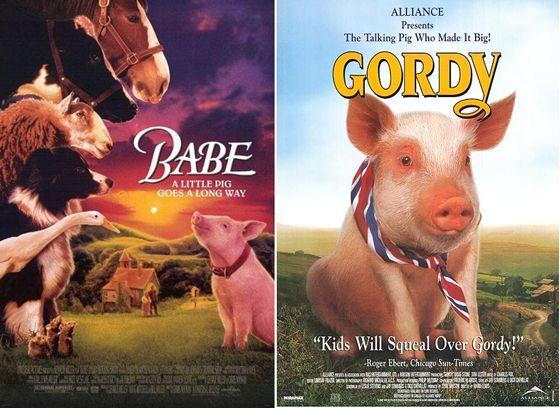 Babe en Gordy - 1995