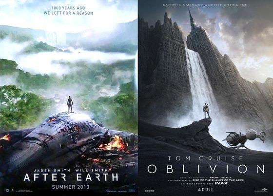 After Earth en Oblivion 2013
