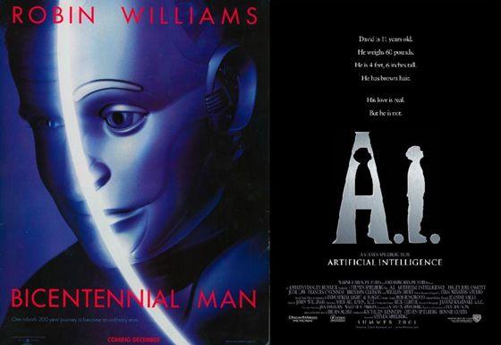 Bicentennial Man (1999) en AI (2001)