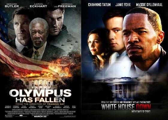 Olympus Has Fallen en White House Down - 2013