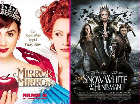 Mirror Mirror en Snow White & the Huntsman - 2012
