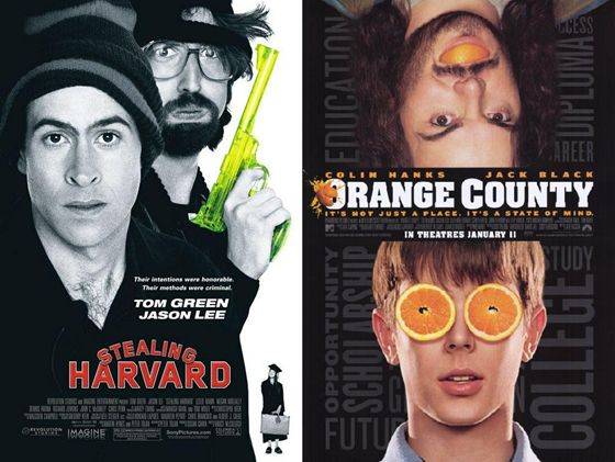 Stealing Harvard en Orange County - 2002