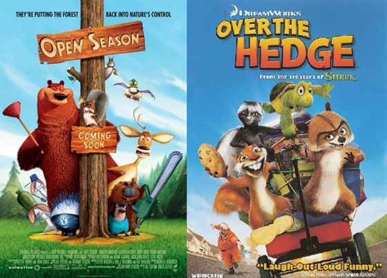 Open Season en Over the Hedge - 2006