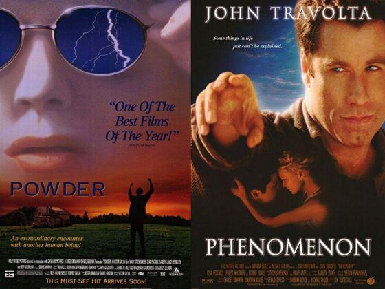 Powder (1995) en Phenomenon (1996)