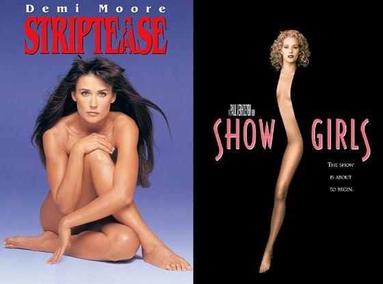 Striptease (1996) en Showgirls (1995)