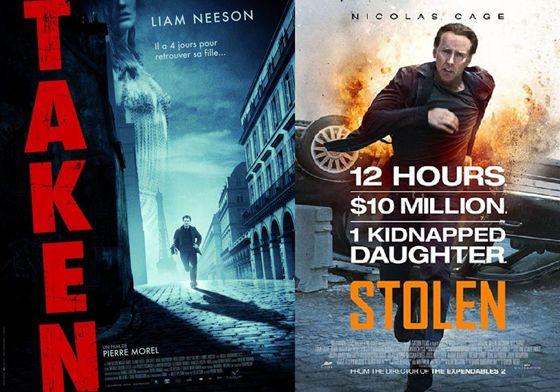 Taken (2008) en Stolen (2012)