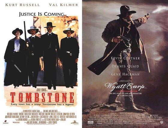 Tombstone (1993) en Wyatt Earp (1994)