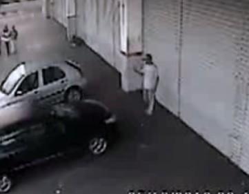 Car hits man while parking