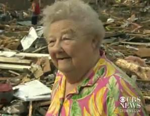 Oklahoma Tornado Survivor Finds Dog During Interview
