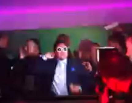 PSY fake at Cannes Film Festival VIP ROOM