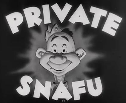 Private Snafu - Spies