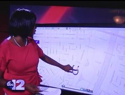 News Reporter Draws Penis