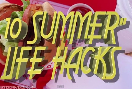 10 Life Hacks You Need To Know For Summer