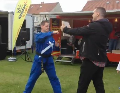 Possibly worst taekwondo martial arts demo ever